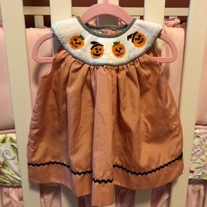 Other - Halloween smocked dress